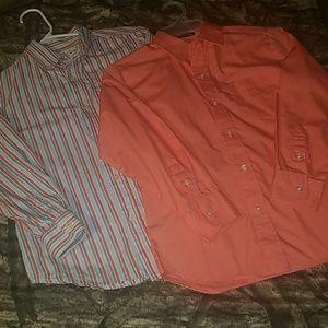 Two Boys button dress shirt Size 7 -8